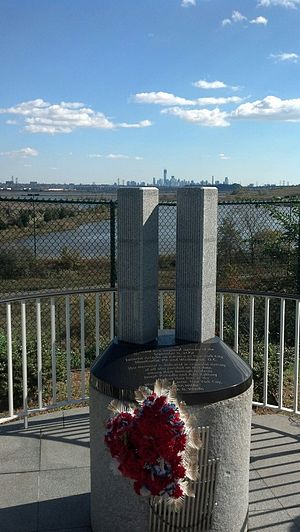 James Zadroga - World Trade Center monument at Zadroga Field, North Arlington, New Jersey