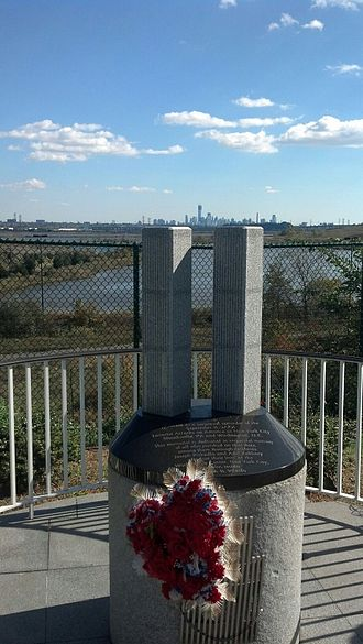 North Arlington, New Jersey - North Arlington erected a 9/11 memorial at the James Zadroga Soccer Field.