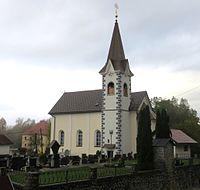 Zaplana Vrhnika Slovenia church.JPG
