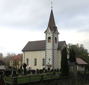 Zaplana, Vrhnika - Saint Ulrich's Church
