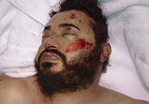 English: Picture of Abu Musab al-Zarqawi short...