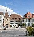 """Zeitglockenturm, Gemeindehaus und """"Alte Kasse"""" in Wangen an der Aare.jpg"""