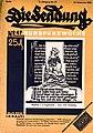 """Zeitschrift """"Die Sendung"""" - 16. November 1928 -Titelblatt.jpg"""