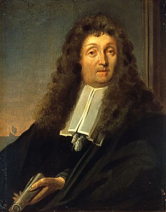 Emden - Self-portrait by Ludolf Bakhuizen