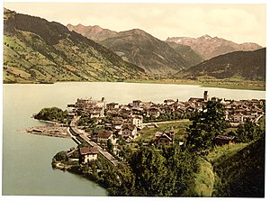 Zell am See - Zell about 1900