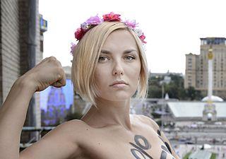 Yana Zhdanova Ukrainian feminist