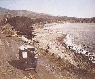 Handcar - Zusō Handcar Tramway in Yugawara, Japan, 1895-1924.