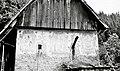 """""""Klet"""" (kašča s freskami), """"Za Klaužam"""", Vojsko 1959 (5).jpg"""