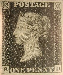 """""""Penny Black"""" postage stamps MET SF2002 236 1 img2"""