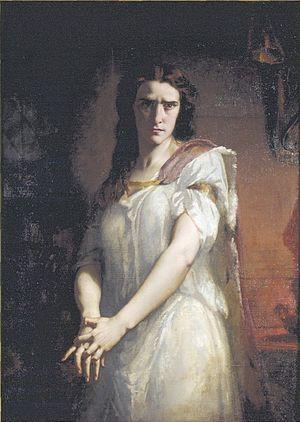 Rachel Félix - Rachel in Lady Macbeth (1849), Charles Louis Müller  - Musée d'Art et d'Histoire du Judaïsme