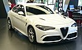 """ 15 - ITALY Alfa Romeo Giulia QV 2015 pre-series at Museo Alfa Romeo Arese.jpg"
