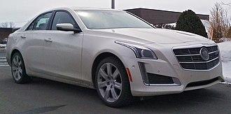 Cadillac CTS - Image: '14 Cadillac CTS Sedan
