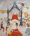 'The Cathedrals of Fifth Avenue' by Florine Stettheimer, 1931.jpg