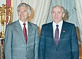 (14) 1987 Bob Hawke, Moscow, meeting with Gorbachev (cropped).jpg