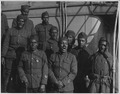 "(African American) minstrels on board the ""Saxonia"". Lieutenant Rutherford's Ministrels who he recr . . . - NARA - 533507.tif"