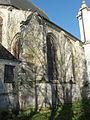 Écouen (95), église Saint-Acceul, collatéral, vue depuis le nord-est.JPG