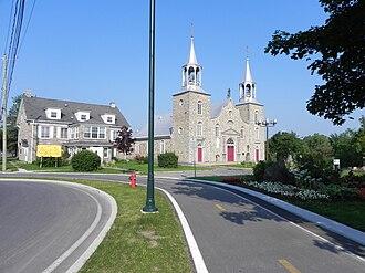 Châteauguay - Image: Église Saint Joachim (5)
