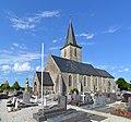 Église Saint-Martin de Saint-Martin-de-Bonfossé. Vue sud-ouest.jpg