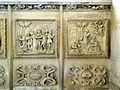 Étampes (91), église Saint-Basile, chemin de croix composé de six bas-reliefs 3.jpg