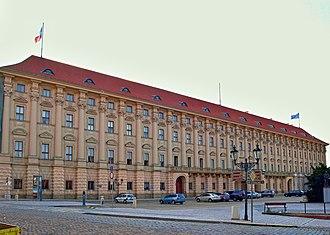 Ministry of Foreign Affairs (Czech Republic) - Image: Černínský palác MZ