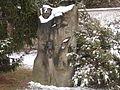 Žďár nad Sázavou - pomník v Horní ulici (severně od autobusové zastávky a hřbitova).JPG