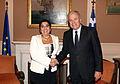Συνάντηση ΥΠΕΞ Δ. Αβραμόπουλου με ΥΠΕΞ Κυπριακής Δημοκρατίας Ερ. Κοζάκου-Μαρκουλλή (7976555157).jpg