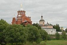 Ансамбль Хотькова Покровского монастыря. 5.09.11..JPG