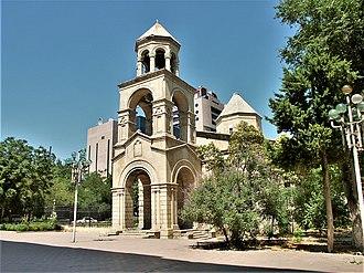 Armenian Church, Baku - Image: Армянская церковь в Баку. Охраняется государством. panoramio