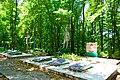 Братська могила 236 воїнів Радянської Армії, загиблих при звільненні села Бабин в центрі села.JPG