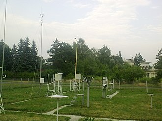 VVC weather station - Image: ВВЦ5