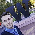 Володимир Мула у студентському кампусі Університету Вашингтону.jpg