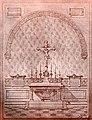 Вівтар у крипті монастиря бернардинців, Кристинопіль.jpg