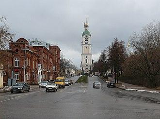 Sarov - Bell tower of Sarov Monastery