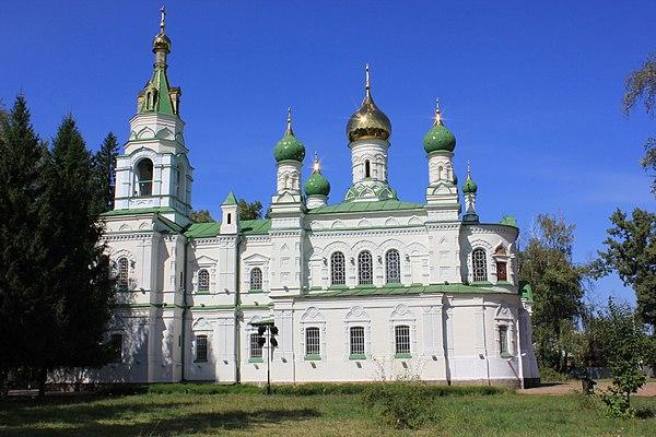 Сампсоніївська церква на полі Полтавської битви, © Fesya2010