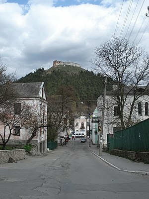 Kremenets Castle - Image: Кременецький замок і гора Бона