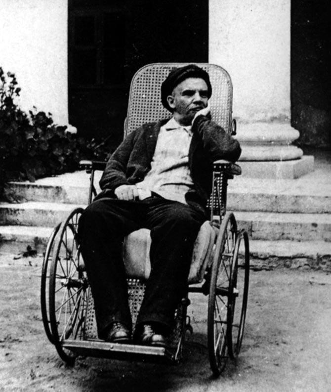 Ленин в Горках (1923)