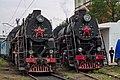 Л-2344 и Л-2331, Москва, депо Подмосковная (2).jpg