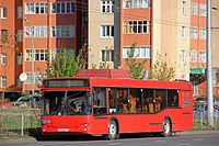 MAZ-103 low-entry bus