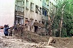 Нато бомбае погодиле насеље Детелинару.jpeg