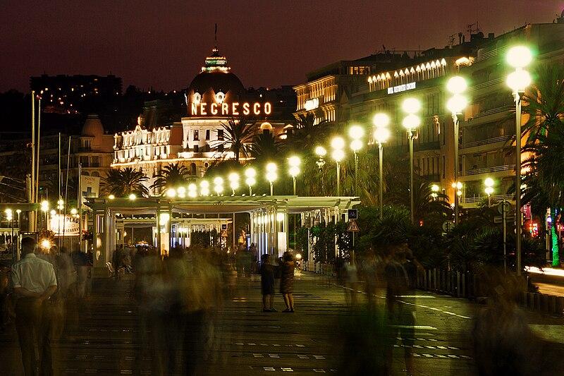 File:Ницца, Франция. Английская набережная, отель Negresco.jpg