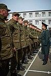 Президент України Петро Порошенко привітав молодих офіцерів з випуском 401 (16758292580).jpg