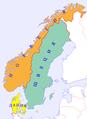 Скандинавия Швеция Норвегия Дания.png