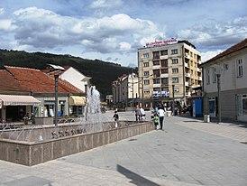 Средиште Сурдулице - Centre of Surdulica.JPG