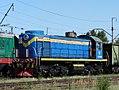 ТЭМ2-5852, Kazakhstan, Karaganda region, Karaganda-Sorting station (Trainpix 137684).jpg