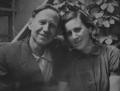 Фёдор Самохин со своей женой Самохиной Короневой Раисой Ильиничной 1958 год.png