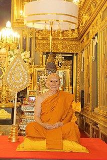 Ariyavongsagatanana (Amborn Ambaro) The Supreme Patriarch of Thai Buddhism since 2017