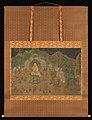 仏伝図 頻毘沙羅王帰依-Life of the Buddha- King Bimbisara's Conversion MET DP245461.jpg