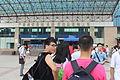 十堰火车站 十堰 Shinan Zhan Shiyan Railway Station 客货站 车站位置 湖北省十堰市 管辖权归属 武汉铁路局 途经线路 襄渝铁路 车站等级 一等站 使用状态 使用中 - 正线 24条.JPG