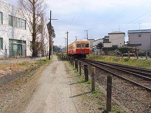 Kominato Line - A KiHa 200 diesel car on the Kominato Line in March 2017