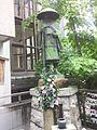 頂法寺 六角堂 - 親鸞上人像.JPG